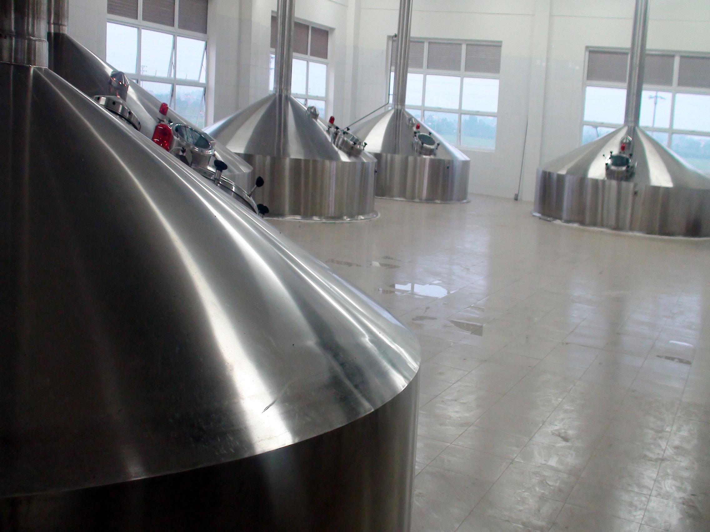 Dự án chế tạo và lắp đặt đồng bộ nhà máy bia Sài Gòn - Phú Thọ