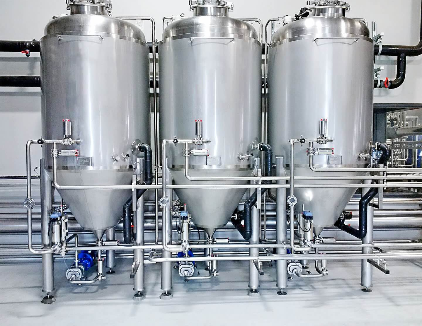 Yeast Propagation and Storage Tanks
