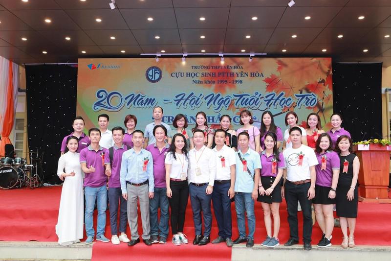 Eresson tài trợ sự kiện hội khóa 20 năm cựu học sinh PTTH Yên Hòa 95-98
